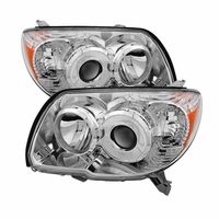 2006-2009 Toyota 4Runner [Non Sport Only] Euro Style Projector Headlights - Chrome
