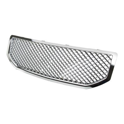 06-10 Dodge Caliber Front Bumper ABS Mesh Grill Grille Guard - Chrome