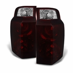2006-2010 Jeep Commander Red Smoked Replacement Tail Lights