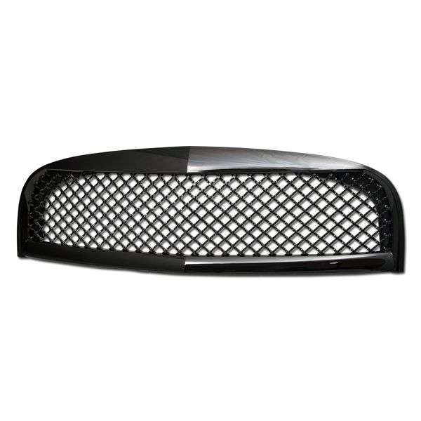 2006-2011 Chevy HHR Mesh Front Hood Bumper Grill Grille - Glossy Black