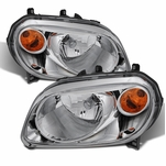 2006-2011 Chevy HHR Replacement Crystal Headlights - Chrome