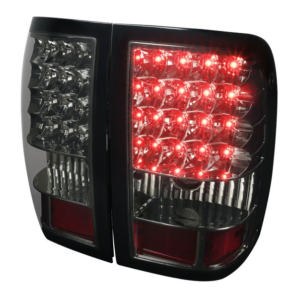 2006-2011 Ford Ranger LED Tail Lights Smoked