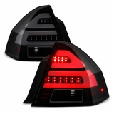 2006-2013 Chevy Impala 2014-2016 Impala Limited LED [Tube Bar] Black Smoked Tail Light