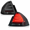2006-2013 Chevy Impala LED Light-Tube Performance Tail Lights - Smoked