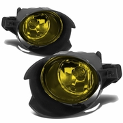 07-09 Nissan Sentra Fog Light Lamps+Switch & Blubs (Amber Lens)