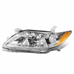 2007-2009 Toyota Camry Chrome Amber Signal Driver Side Projector Headlight