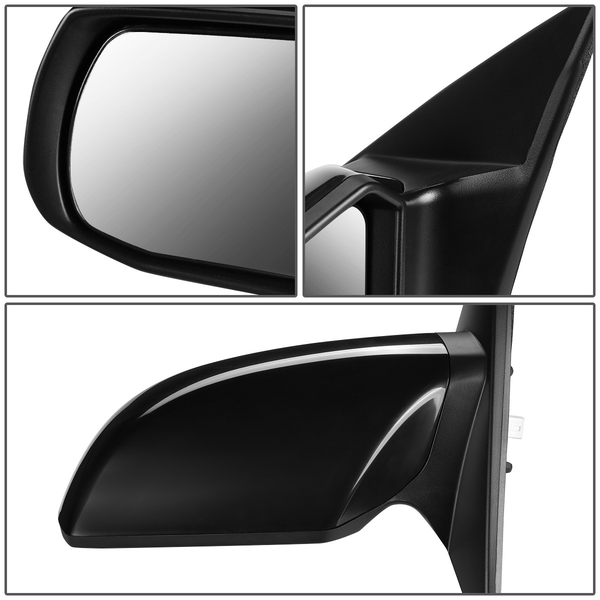 Drivers Power Side View Mirror Replacement for 2007-2012 Altima Sedan 96302JA04A
