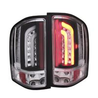 2007-2013 Chevy Silverado G2 Performance LED Tail Lights - Black