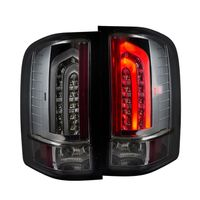2007-2013 Chevy Silverado G2 Performance LED Tail Lights - Smoked