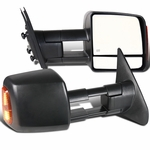 2007-2017 Toyota Tundra Sequoia HEATED+POWER Extend LED Signal Tow Mirrors