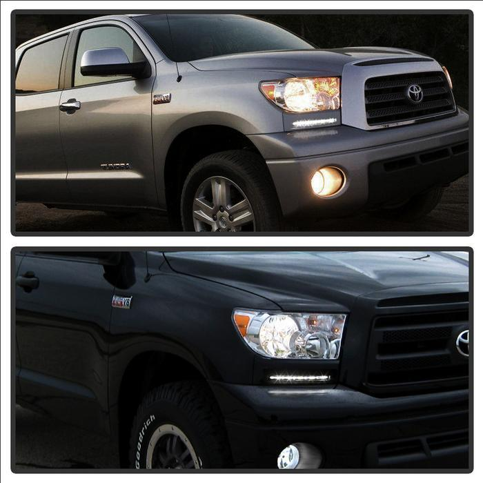 2007-2013 Toyota Tundra / Sequoia Front Bumper Built-In LED