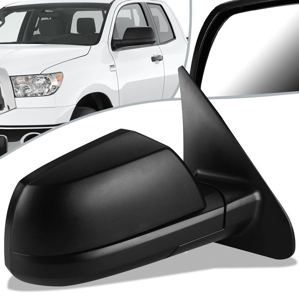 07-13 Toyota Tundra Sequoia OE Style Manual Side Door Mirror Right TO1321241