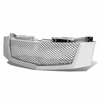 2007-2014 Cadillac Escalade Sport Mesh Front Bumper Grill Grille - Chrome