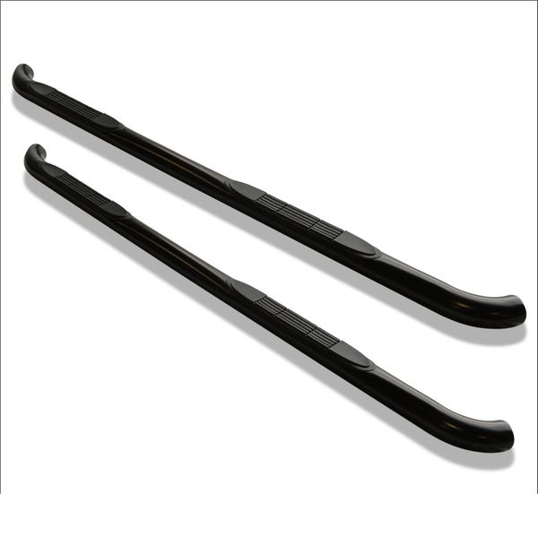 2007-2014  Chevy Silverado/Sierra 1500 Double Cab /07-13 Chevrolet Silverado/Sierra 1500 Extended Cab / 07-14 Chevrolet Silverado/Sierra 25-3500 Extended Cab (Excluding Diesel Models With Def Tanks) Side Step Bar (Black)