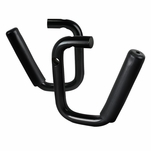2007-2016 Jeep Wrangler JK 2Dr/4Dr Black Front Grab Handle Bars w/Grip