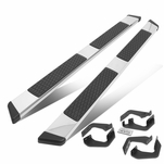 """2007-2020 Toyota Tundra Double/Crew Cab 5"""" Chrome Step Nerf Bar Running Boards"""