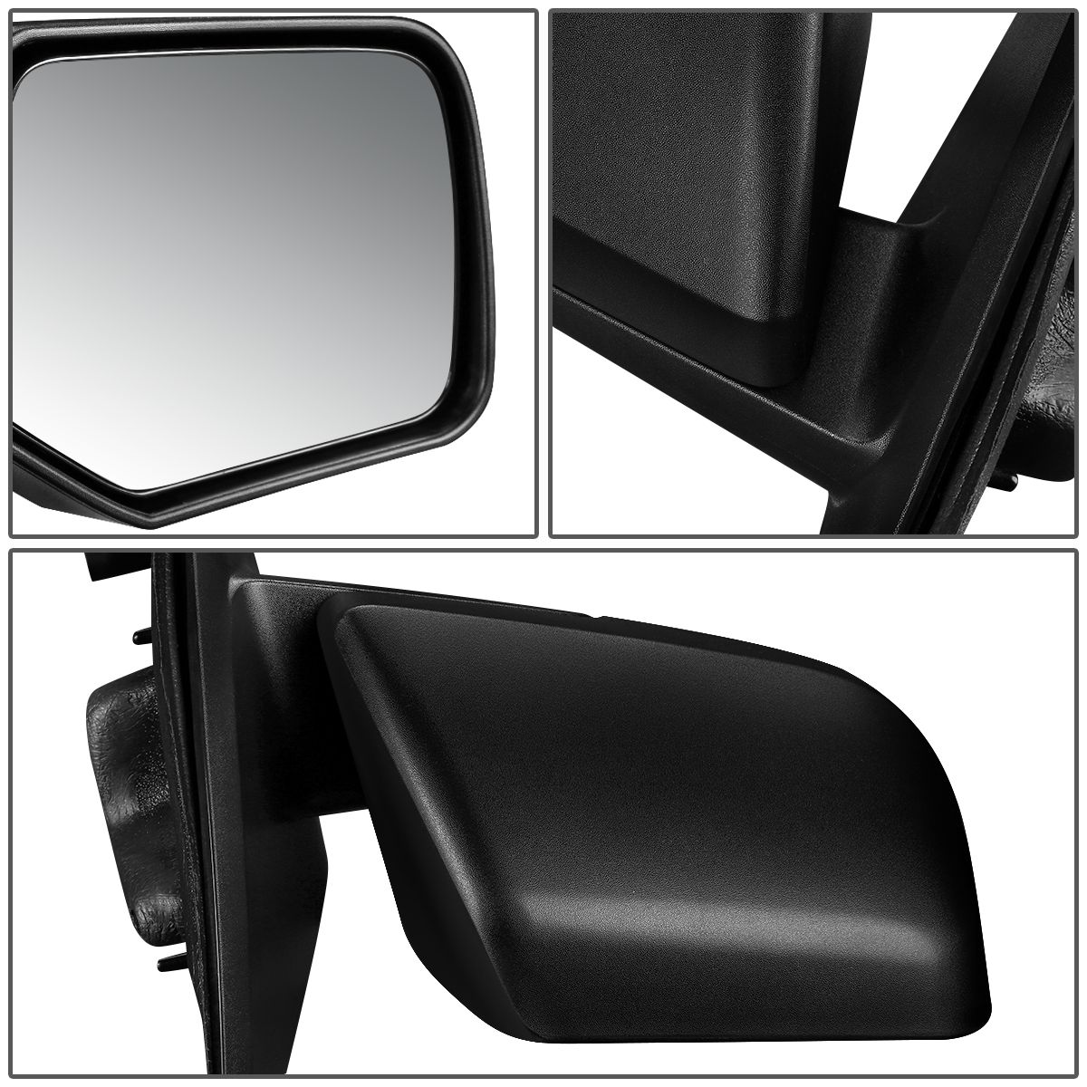 2008-2012 Ford Escape Mariner Right Passenger Side View Power Mirror Glass OEM