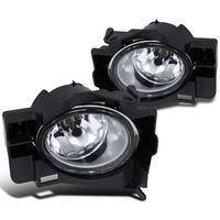08-12 Nissan Altima 2Dr Coupe Clear Fog Driving Lights Kit+Switch Left+Right