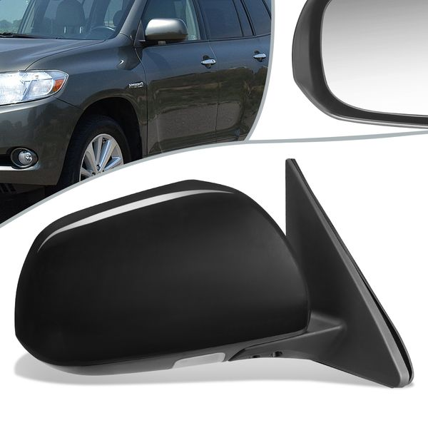 08-13 Toyota Highlander OE Style Power+Heated Side View Door Mirror Right TO1321251