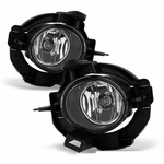 2008-2013 Nissan Rogue 4DR OEM Style Replacement Fog Lights