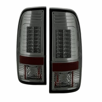 2008-2016 Ford F250 F350 F450 Superduty SD G2 LED Tail Lights - Smoked