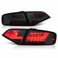 2009-2012 Audi A4 / S4 Sedan [Incandescent Model] Performance LED Tail Lights - Smoked
