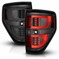 2009-2014 Ford F-150 LED Light-Tube Tail Lights - Smoked