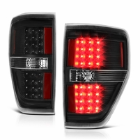 2009-2014 Ford F150 Performance LED Tail Lights - Black
