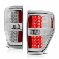 2009-2014 Ford F150 Performance LED Tail Lights - Chrome