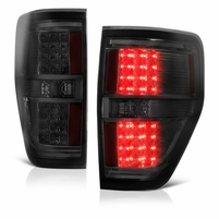 2009-2014 Ford F150 Performance LED Tail Lights - Smoked