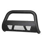 01-04 Nissan Frontier Bull Bar / Guard Mesh Style Skid Plate Matte Black