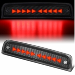 2009-2018 Dodge Ram 1500 Chasing Triangle LED Carbon 3rd Third Brake Light