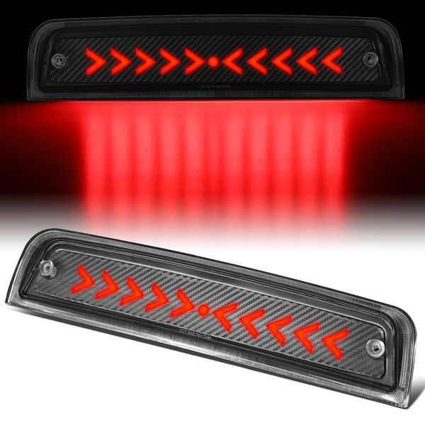2009-2018 Dodge Ram 1500 Sequential Arrow LED Carbon Third Brake Light
