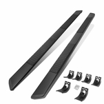 2009-2020 Dodge Ram Extended Cab 5-inch Black Stainless Steel Step Bar Running Boards