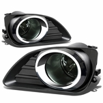 2010-11 Toyota Camry [Non SE or Hybrid] OE Style Fog Lights Kit - Smoked