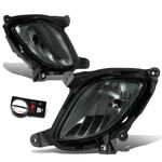 2010-12 Hyundai Genesis Coupe Pair of Bumper Driving Fog Lights w/Switch (Smoked Lens)