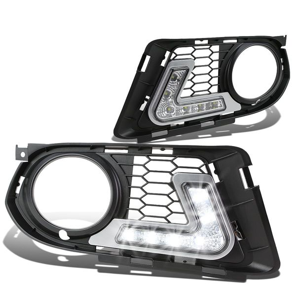 2010-13 BMW E92 93 3-Series Coupe [LCI with M Sport Bumper]  LED DRL Fog Lights