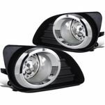 2010-2011 Toyota Camry Clear Bumper Lamps Fog Lights+Switch+Wiring