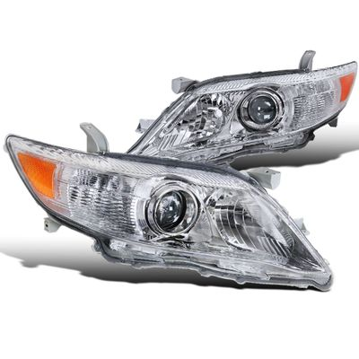 2010-2011 Toyota Camry [US Built Model Only] Projector Headlights - Chrome