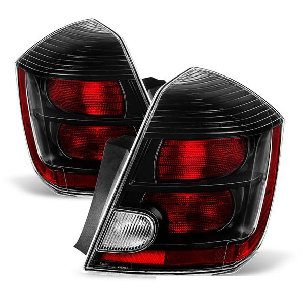 2010-2012 Nissan Sentra [SR Model Only] OEM Style Replacement Tail Lights -Pair