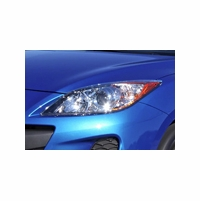2010-2013 Mazda 3 Aftermarket LED DRL Tube Projector Headlights Replacement