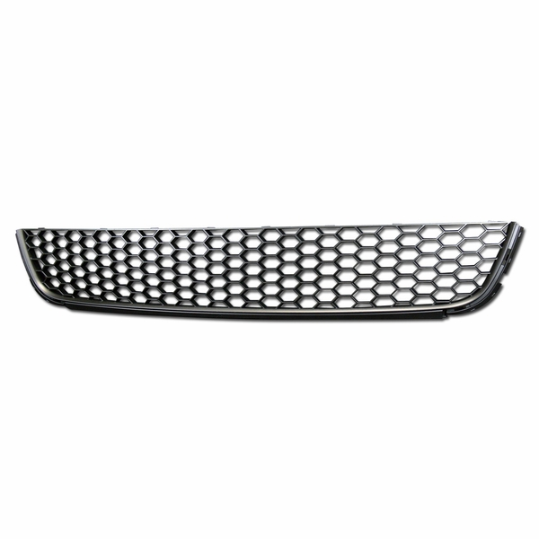 2010-2014 VW Golf Mk6 Honeycomb Mesh Lower Bumper Grill Grille - Black