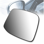 2010-2018 Ford E-150/250/350/450/550 OE Style Left Side Mirror Glass w/Plate