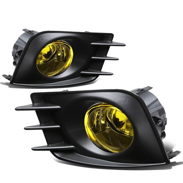 2011-13 Scion tC OE-Style Fog Lights Kit - Yellow