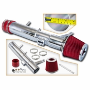 2011-14 Ford Mustang V6 3.7L Cold Air Intake Kit - Red