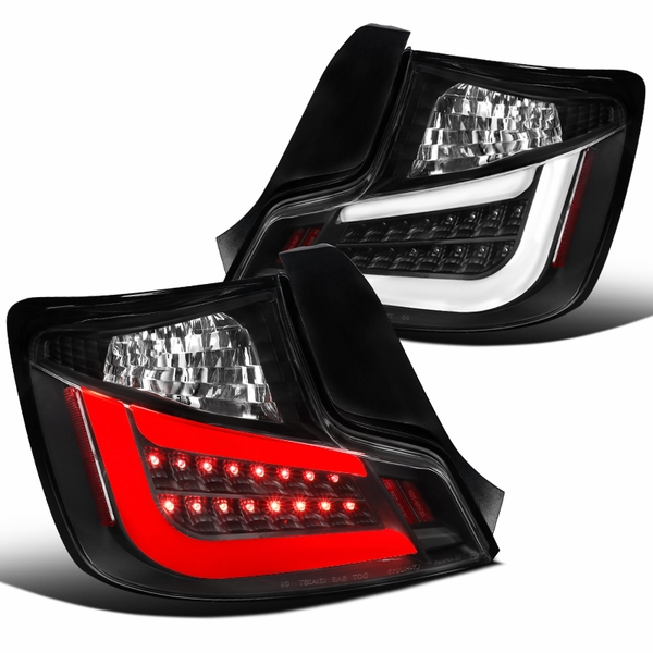 2011-2013 Scion tC LED Replacement Tail Lights - Stealth Black