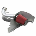 2011-2014 Ford Mustang 5.0L V8 Heat Shield Air Intake System - Silver