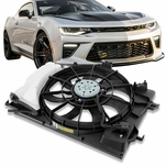 2011-2014 Hyundai Accent Attitude Veloster Radiator Cooling Fan Assembly HY3115136