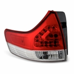 2011-2014 Toyota Sienna OEM Style Replacement Outter LED Tail Lights - Driver Side