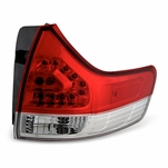2011-2014 Toyota Sienna OEM Style Replacement Outter LED Tail Lights - Passenger Side